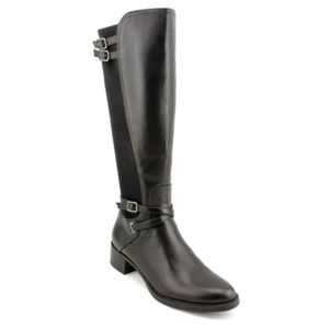 Etienne Aigner Celina Faux Leather Riding Boot 8.5